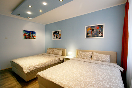 Trosoban Apartman Castel Beograd Centar