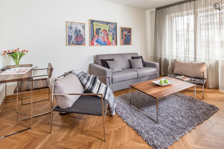 Stan , Beograd (grad) , Kratkoročno izdavanje | Dvosoban Apartman Rakoč A30 Beograd Savski Venac