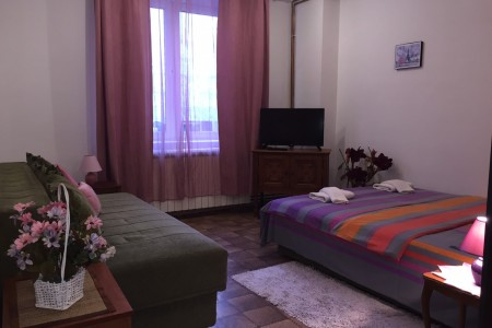 One Bedroom Apartment Garden Hram Belgrade Vracar