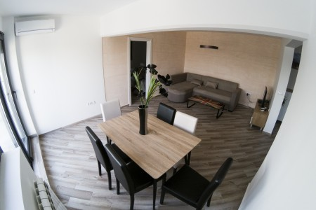 Three Bedroom Apartment Urban Panorama Belgrade New Belgrade