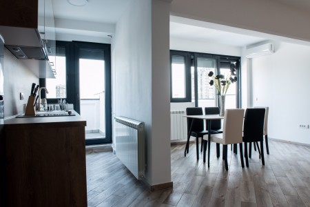 apartmani beograd novi beograd apartman urban panorama