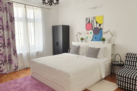 Four Bedroom Apartment Marshal Urban Downtown Belgrade Center