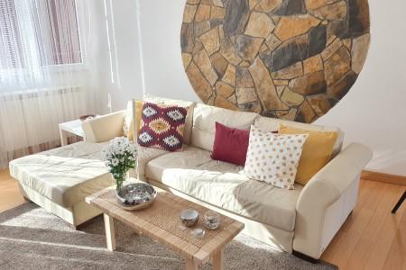 Three Bedroom Apartment Decanska Urban Downtown Belgrade Center
