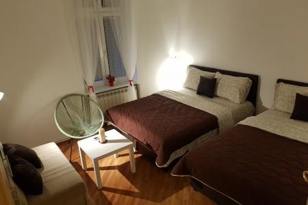 Četvorosobni Apartman Tito Beograd Centar
