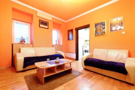 Two Bedroom Apartment Paradise Sunny Sky Belgrade Center