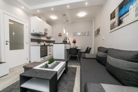 Two Bedroom Apartment Gray Luxe Belgrade Vracar