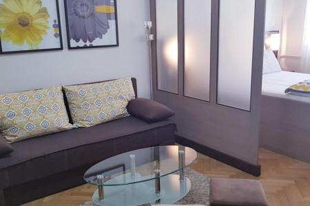 apartmani novi sad stari grad apartman yellow flower8