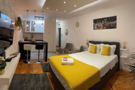 Studio Apartment Sanja Gold Belgrade Center