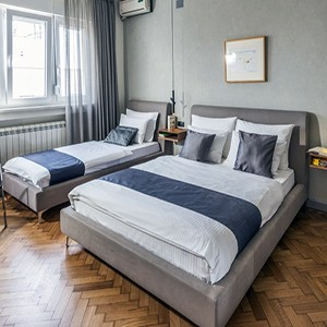 Apartmani sa single krevetom u Beogradu