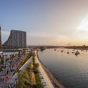 Beograd na vodi - lokacija