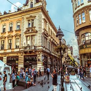 Znamenitosti u centru Beograda