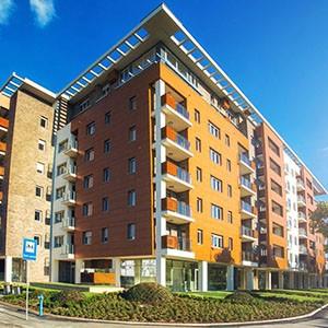 Apartmani u blizini naselja A blok
