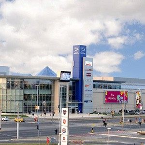 Delta city - tržni centar u blizini bloka A