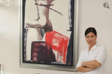 Dentist Dr Branislava Smiljković