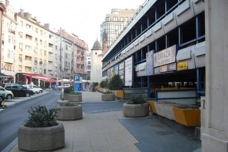 Javna parking garaža Obilićev venac