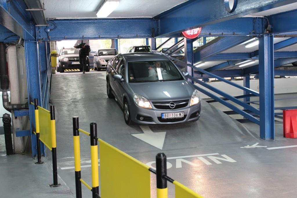 Javna Parking Garaza Masarikova Parking Beograd