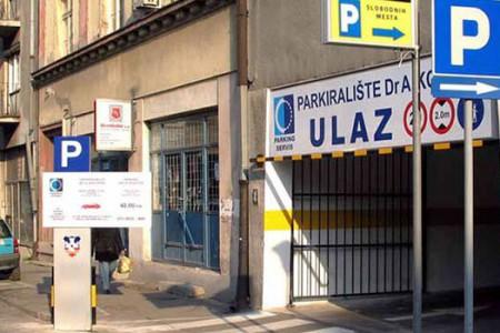 Javna parking garaža Dr Aleksandra Kostića