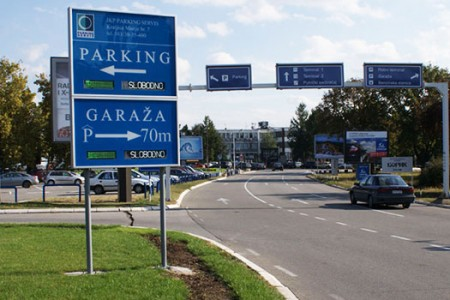 Parking Aerodrom