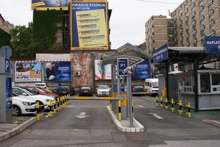 Parking Slavija