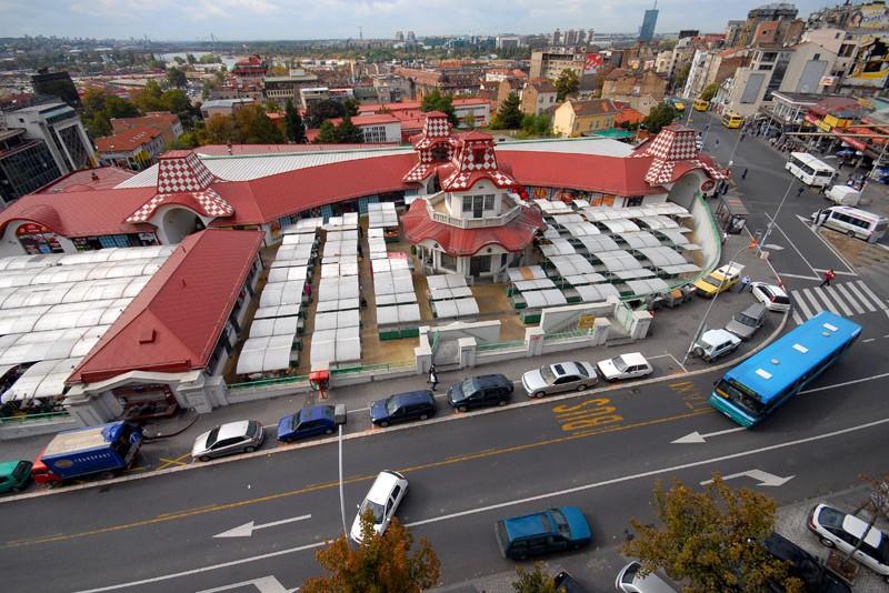 Zeleni Venac Market Place Belgrade Market Places