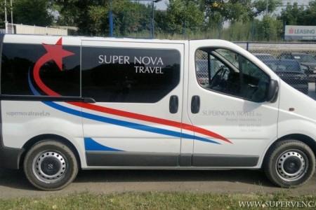 supernova travel van transport belgrade centar