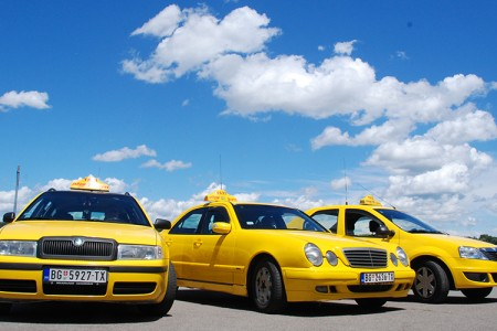 zuti taxi belgrade taxi palilula
