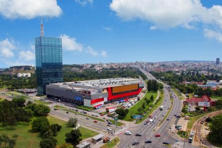 usce belgrade shopping centers novi beograd