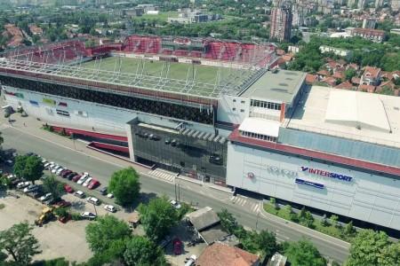 stadion trzni centri beograd vozdovac