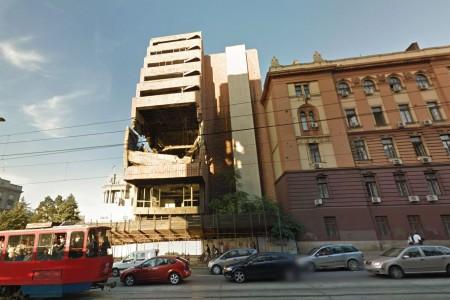 zgrada generalstaba i ministarstva odbrane znamenitosti beograd centar