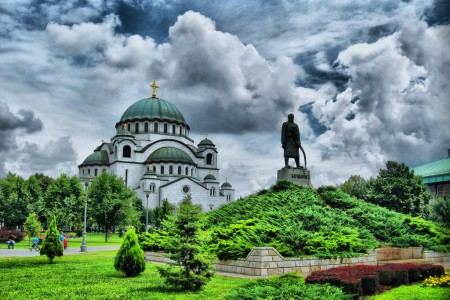 The temple of St. Sava Attraction