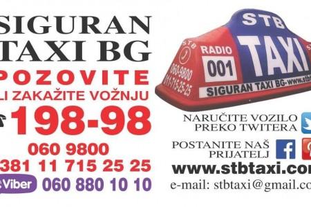 STB taxi Belgrade
