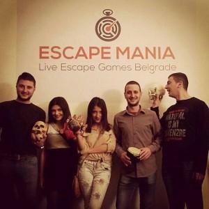klub escape mania beograd 2