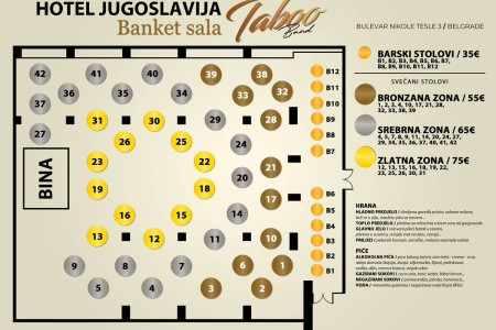 hotel jugoslavija belgrade restaurants novi beograd6