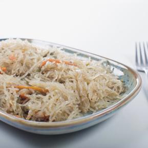 Vegetable noodle wok