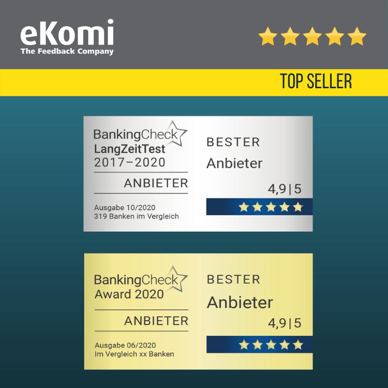 BankingCheck Test Seal EUR