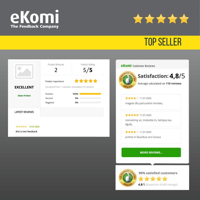 eKomi Widget Generator EUR