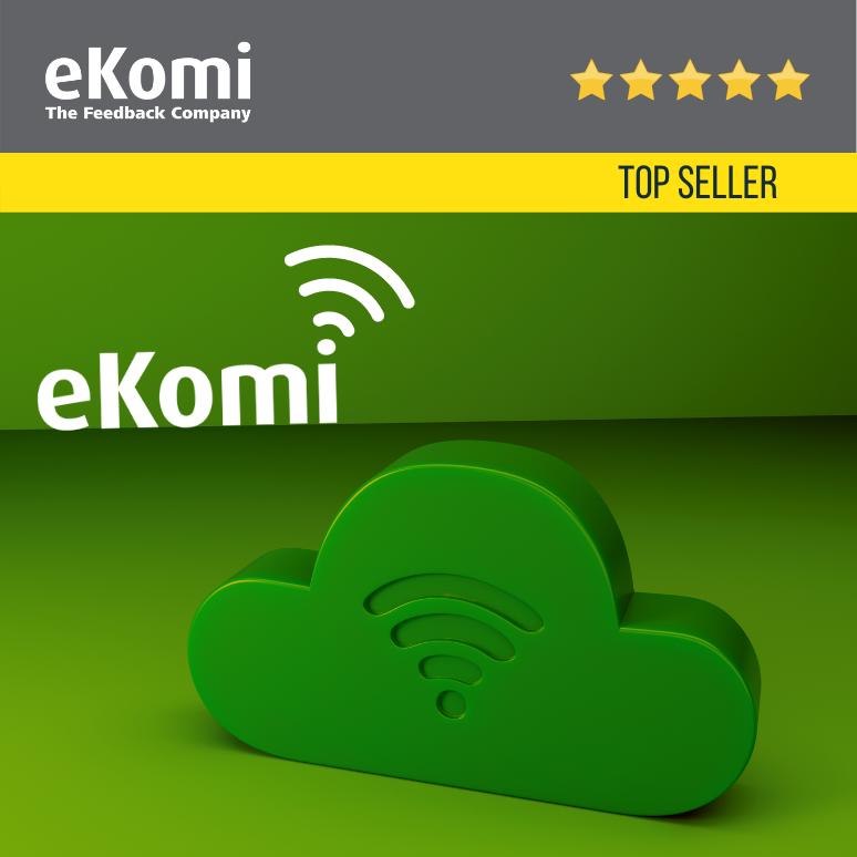 eKomi Cloud WiFi - Free WiFi for your guests EUR