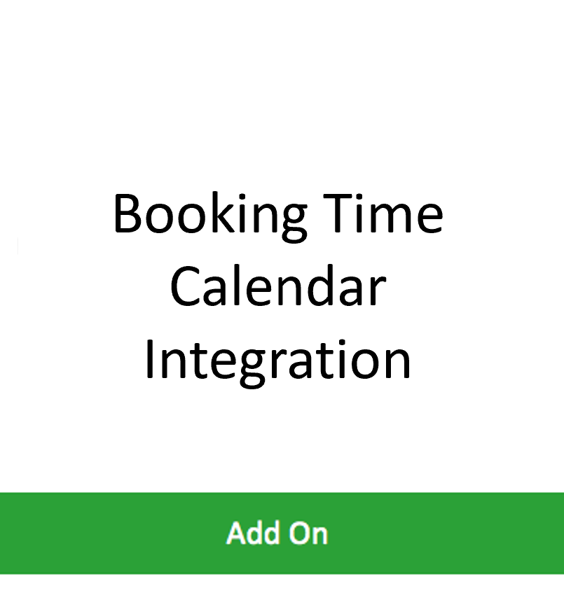 Booking Time Integration