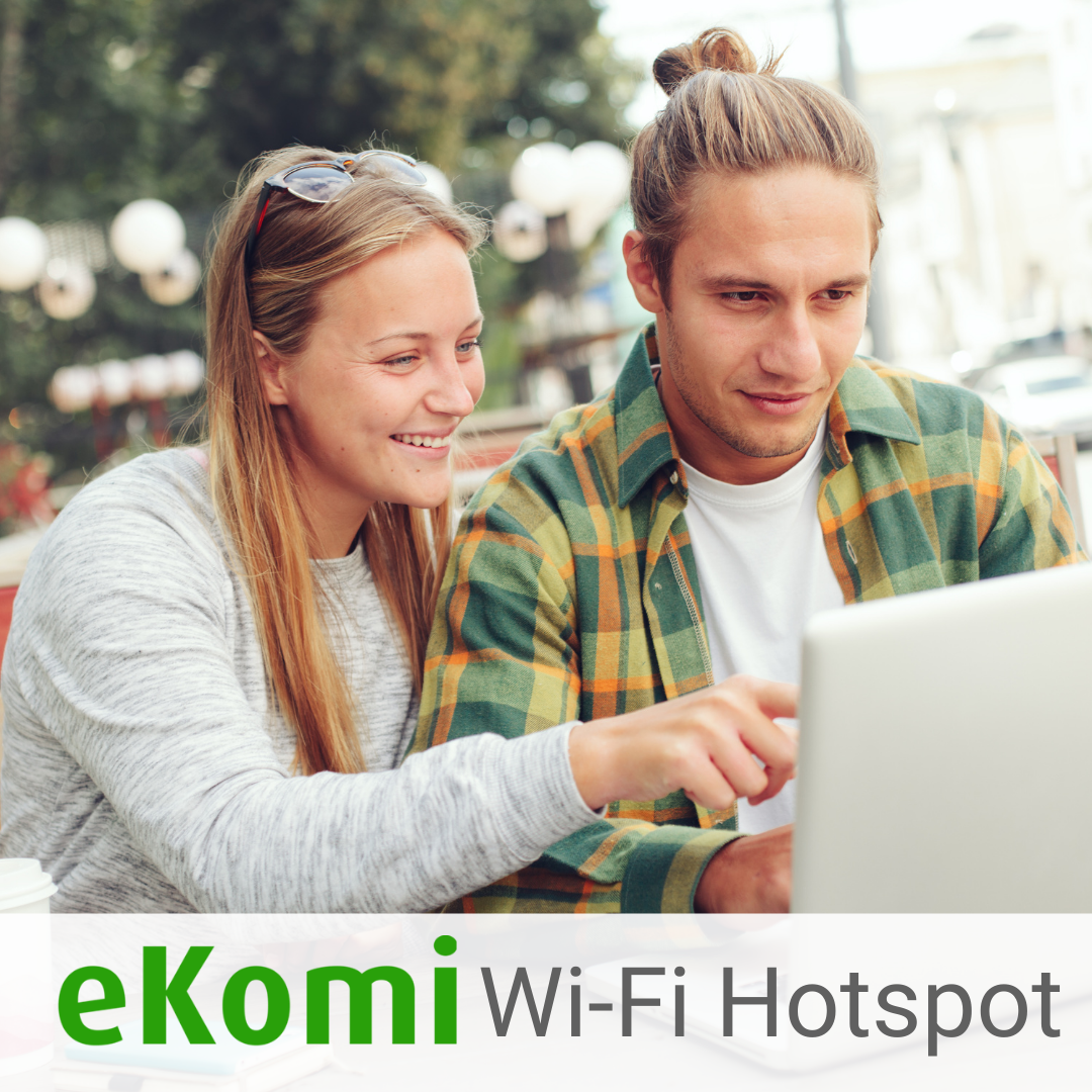 eKomi Wifi Hotspot with Mobile Access Point
