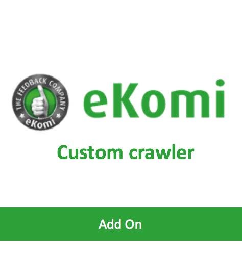 Custom crawler