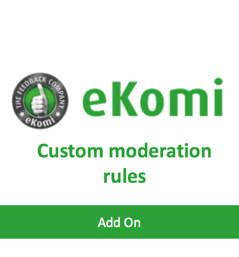 Custom Moderation Rules