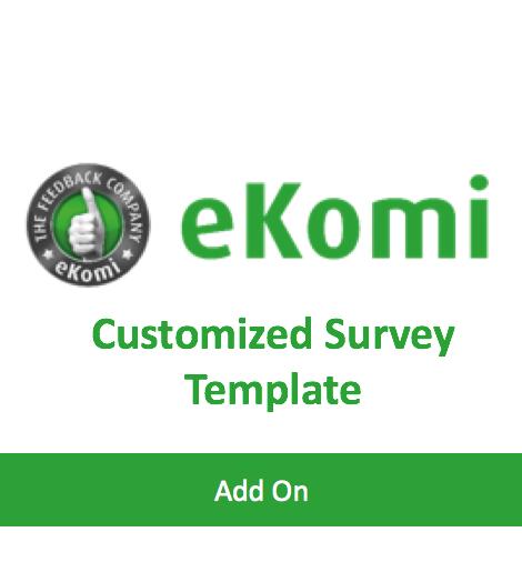 Customised survey template