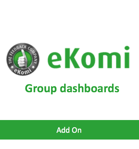 Group dashboards