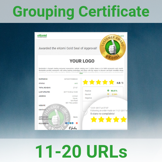 Grouping Certificate Page 11-20