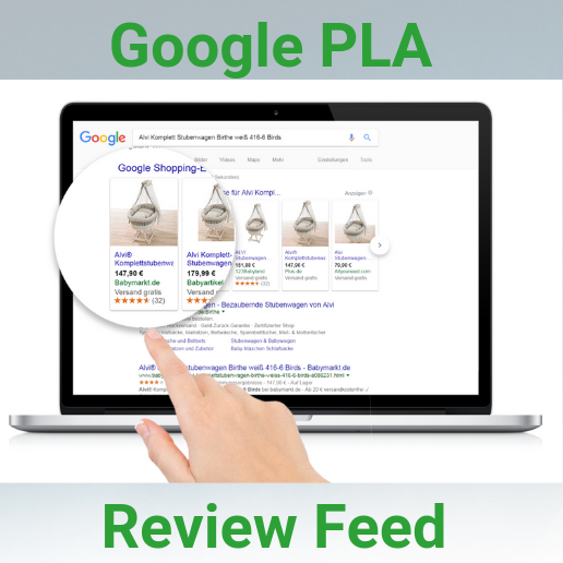 Google PLA Product Review Feed