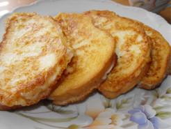 Хлеб в яйце - фото приготовления рецепта шаг 4