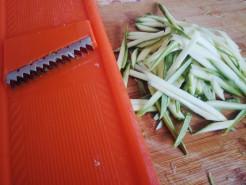 Спагетти из кабачков - фото приготовления рецепта шаг 1