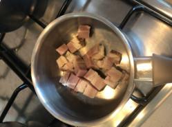 Фасолевый суп с копченостями - фото приготовления рецепта шаг 2
