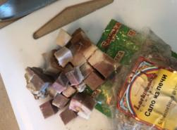 Фасолевый суп с копченостями - фото приготовления рецепта шаг 1