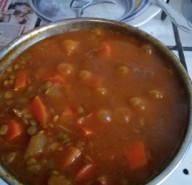 Суп-пюре из чечевицы - фото приготовления рецепта шаг 4